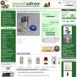 Poche à lavement + café Wilson 500g - Sante Detox - Patricia JOUD