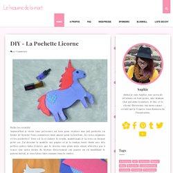 DIY - La pochette licorne