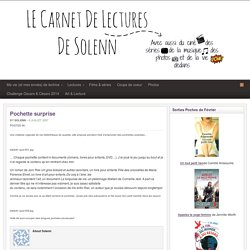 Carnet de Lectures de Solenn