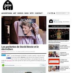 Les pochettes de David Bowie et le sleeveface