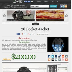 26 Pocket Jacket