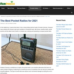12 Best Pocket Radios Reviewed and Rated in 2021