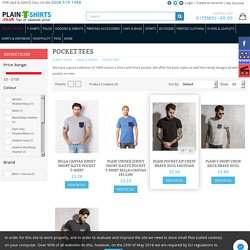 Stylish T-Shirts with Pockets in London