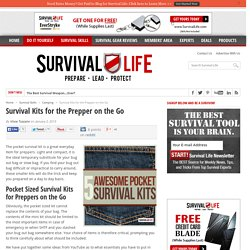 Pocket Sized Survival Kits for Preppers on the Go
