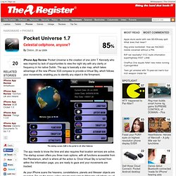 Pocket Universe 1.7 • Register Hardware