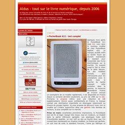 PocketBook 622 : test complet
