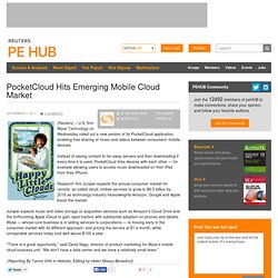 PocketCloud Hits Emerging Mobile Cloud Market