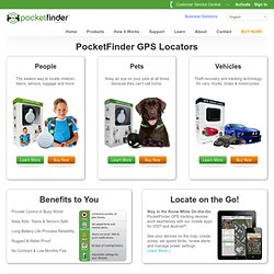Family of Personal GPS Locators