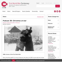 Podcast 38: Christmas at war