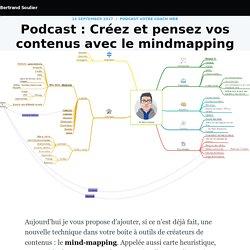 Podcast : Créez et pensez vos contenus avec le mindmapping