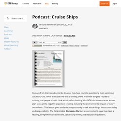 Podcast: Cruise Ships