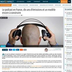 Le podcast en France, dix ans d'émissions et un modèle encore à construire