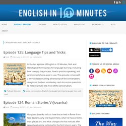 Podcast Episodes Archives - English in 10 Minutes