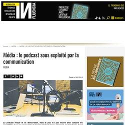 Média : le podcast sous exploité par la communication