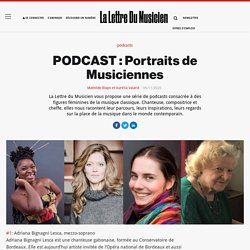 PODCAST : Portraits de Musiciennes
