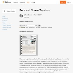Podcast: Space Tourism