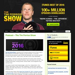 #166: How Creatives Should Negotiate — The Tim Ferriss Show