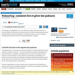 Podcasting lire et gérer