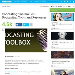 Podcasting Toolbox