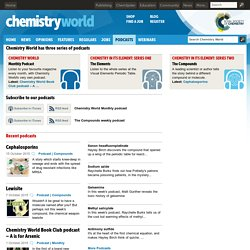Chemistry World - Interactive Periodic Table