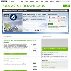 Podcasts - Documentary of the Week