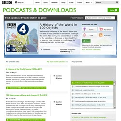 Podcasts - A History of the World in 100 Objects