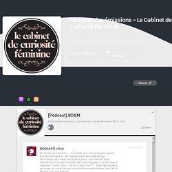 [Podcast] BDSM — Podcasts des émissions – Le Cabinet de Curiosité Féminine
