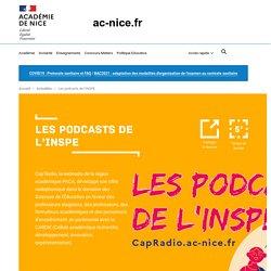 Les podcasts de l'INSPE