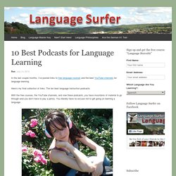 10 Best Podcasts for Language Learning