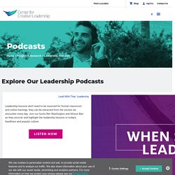 Podcasts: The Big 6: An Active Listening Skill Set