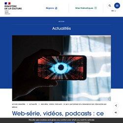 Web-série, vidéos, podcasts : ce qu'il faut retenir de 4 ressources sur l'éducation aux médias