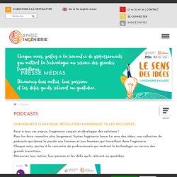 Podcasts - Syntec Ingénierie