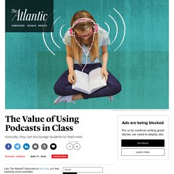 Why Podcasts Like 'Serial' Are Helping English Teachers Encourage Literacy