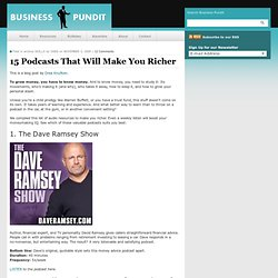 15 Podcasts That Will Make You Richer