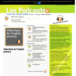 Les Podcasts de l'Université de Grenoble