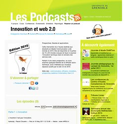 Innovation et web 2.0
