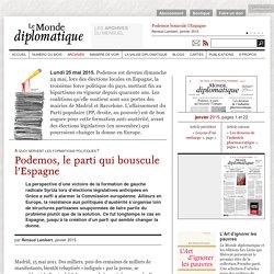 Podemos bouscule l'Espagne, par Renaud Lambert (Le Monde diplomatique, janvier 2015)