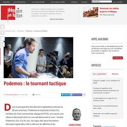 Podemos : le tournant tactique