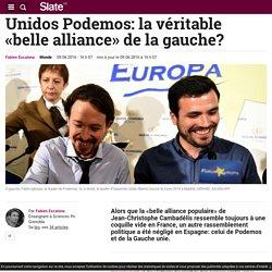 Unidos Podemos: la véritable «belle alliance» de la gauche?