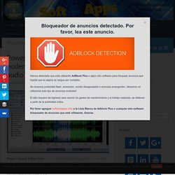 Power Sound Editor Free, poderoso grabador y editor de audio para Windows - Soft