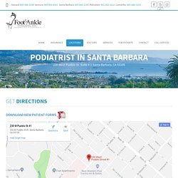 Podiatrist In Santa Barbara