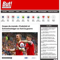 Coupe du monde : Podolski et Schweinsteiger se font la guerre