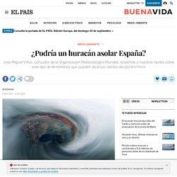 ¿Podría un huracán asolar España?
