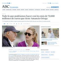 Todo lo que podríamos hacer con los más de 72.000 millones de euros que tiene Amancio Ortega