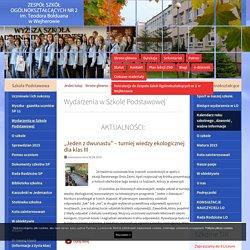 Wydarzenia w Szkole Podstawowej - Zespół Szkół Ogólnokształcących nr 2