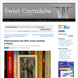 Podsumowanie roku 2019: rynek e-booków w Polsce