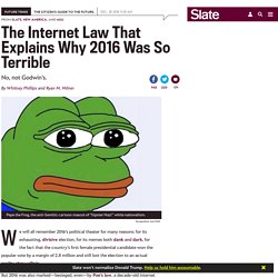 Poe's law explains why 2016 was so terrible.