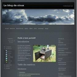 Poêle à bois portatif » Le blog de sinux