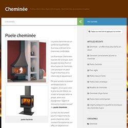 Poele cheminée