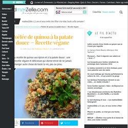 Poêlée de quinoa à la patate douce — Recette végane